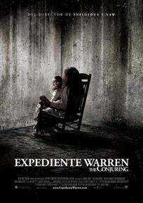 Cartel de Expediente Warren: The Conjuring