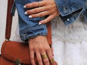 Current love: white nails trend