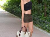 Cropped lino shorts