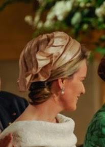 Matilde de Bélgica, espléndida de Natan y Fabienne Delvigne, se convierte en reina