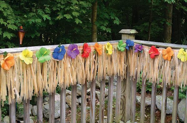 Como decorar fiesta hawaiana imagui for Decoracion verano jardin infantil