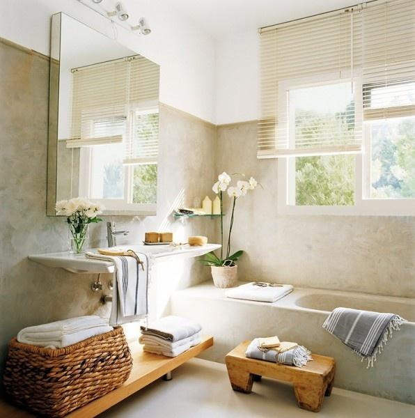 Spa Look Bathrooms: 10 Baños Con Encanto