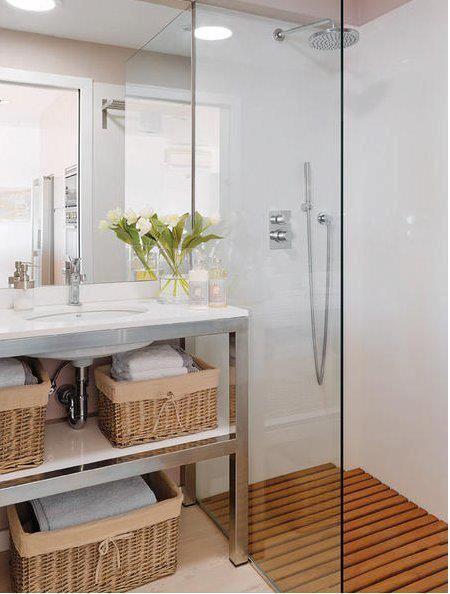 10 ba os con encanto paperblog for Aseos modernos con ducha