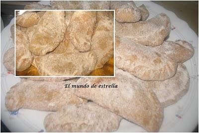 Empanadillas de cidra y tortitas