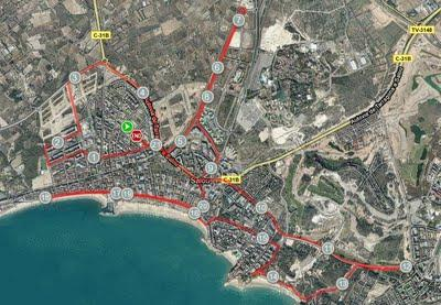 Last Test Marathon -  Foto Finish...!!! Mitja Marató de Salou (Tarragona) - Total Trainings Last Seven Days