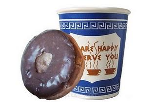 jabon con forma de donut