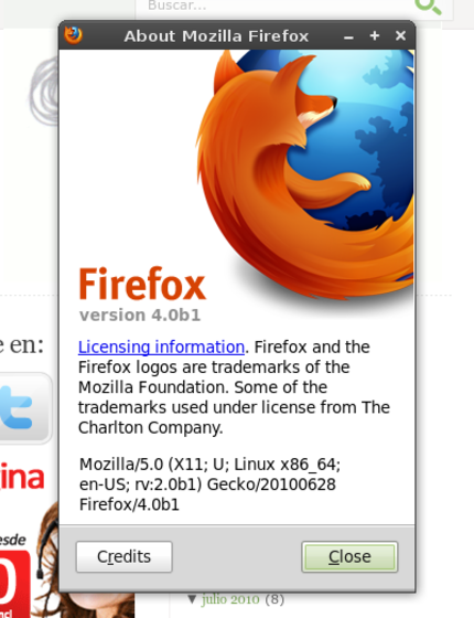 Firefox 4.0 beta 1