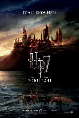 Teaser póster de Harry Potter y las reliquias de la muerte (1 y 2)
