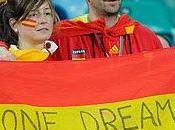 éxito disfrutar triunfo España semi-final Copa Mundial!