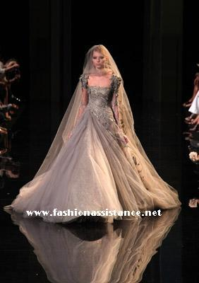 Paris Haute Couture Fashion Week, Fall/Winter 2010. Elie Saab
