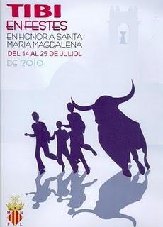 Tibi. Fiestas Patronales de la Magdalena 2010