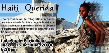 INVITACIÓN A LA EXPOSICIÓN FOTOGRÁFICA HAITÍ QUERIDA