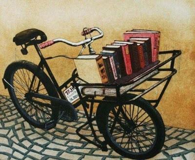 Bicicletas y libros. Una simbiosis perfecta