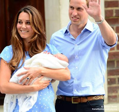 El bebé Real de Kate y William de Inglaterra