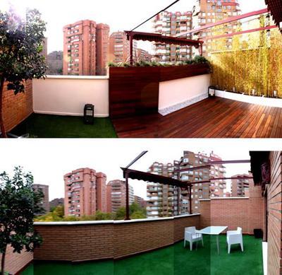 Dise o de jardines fotos del antes y despu s paperblog - Diseno terrazas aticos ...