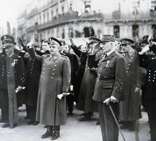 La política exterior franquista durante la II Guerra Mundial.