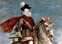 Felipe III con la Perla Peregrina retratado por Velázquez