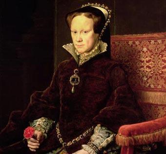 María Tudor con la Perla Peregrina