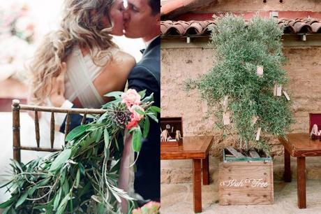 Elizabeth-Messina-rama de olivo-Tree-Boda