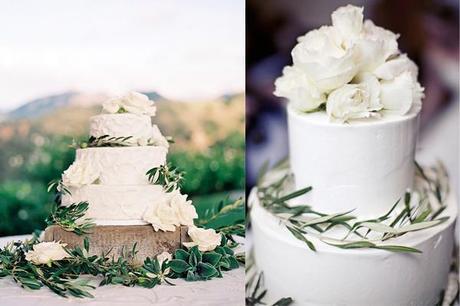 Rama de olivo-Wedding Cake-