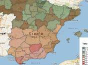 paro España provincias