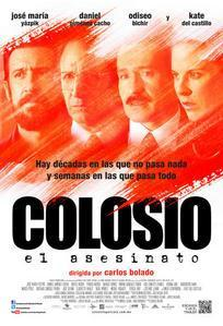 Cartel de Colosio el asesinato