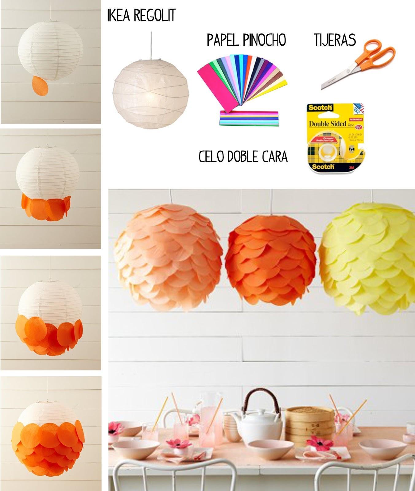 Diy l mparas con papel paperblog - Blog de manualidades y decoracion ...