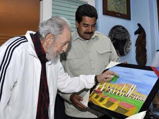 Presidente Nicolás Maduro se entrevistó con Fidel Castro [+ fotos]