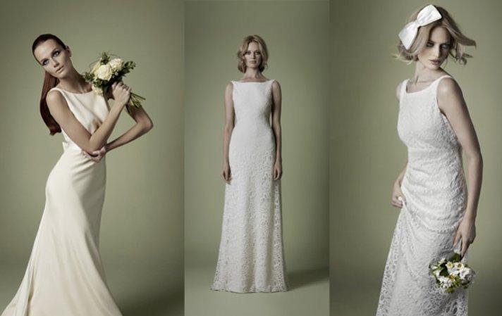 Vestido de novia estilos de 1920 a 1960 para la boda Wedding dress 1960