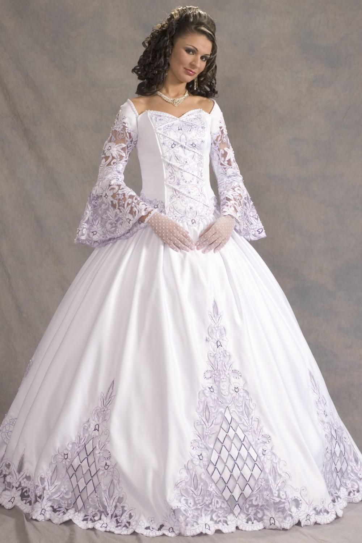 Vestidos de novia con mangas. FOTOS - Paperblog