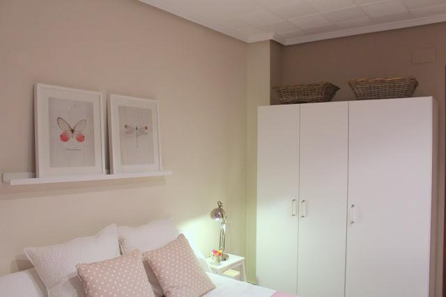 Y asi hicimos el dormitorio de invitados low cost paperblog for Dormitorio invitados