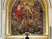 Iglesia Buenaventura (9): retablo Coronación Virgen.