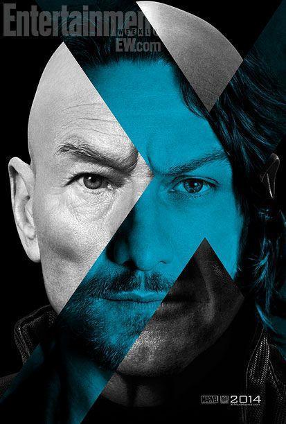 Nuevos Posters de Magneto y el Profesor Xavier en X-Men: Days Of Future Past.