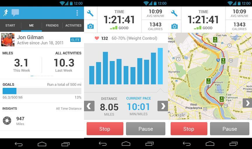 Las 5 mejores aplicaciones para hacer deporte en android paperblog - Aplicaciones para hacer deporte en casa ...