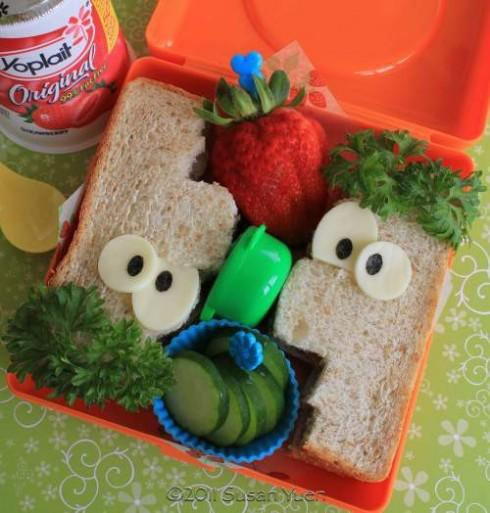Ideas para decorar platos infantiles comidas divertidas for Platos para