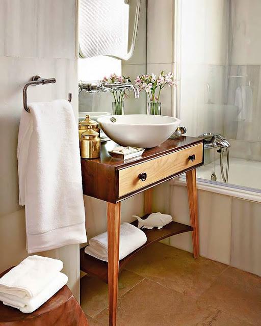 Mueble Baño Original:Reciclar una comoda como mueble de baño – Paperblog