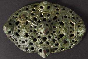 Broche vikingo - Joyas Vikingas encontradas en Dinamarca.
