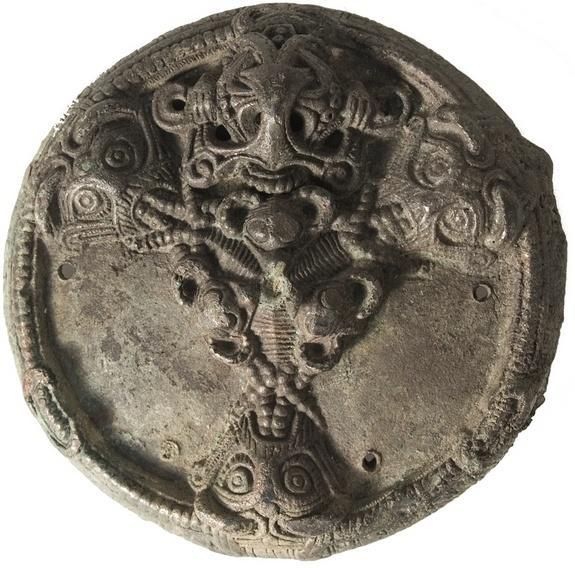 Colgante Vikingo - Joyas Vikingas encontradas en Dinamarca.