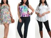 Moda para mujeres talla grande. FOTOS