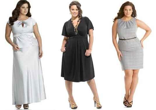 Moda para mujeres de talla grande. FOTOS