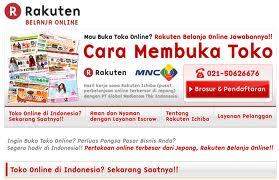 rakuten tienda on line vender internet distribuidores ecommerce
