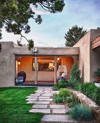 Casa estilo rustico santa fe paperblog - Casas con estilo rustico ...