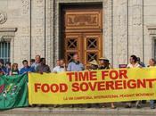 Soberania Alimentaria refuerza soberania nacional pero como revolucion. ?Estamos locos?