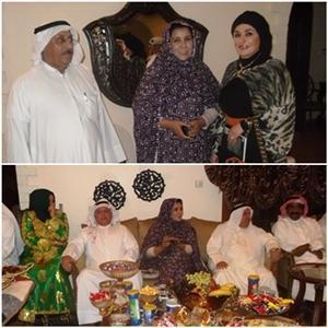 Najla Al-fiqi Foro, organizado por los medios kuwaitíes, dedicó una edición especial sobre el tema del Sahara