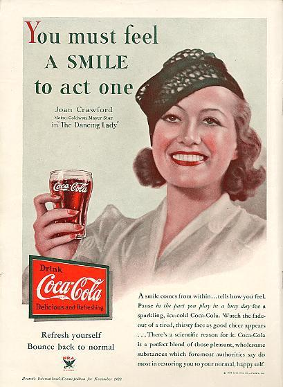 Joan Crawford Coca Cola