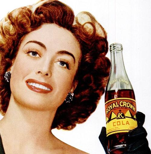 Joan Crawford - Anuncio Royal Crown Cola