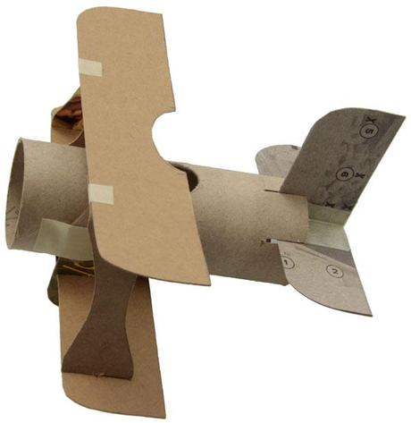 Mini biplano