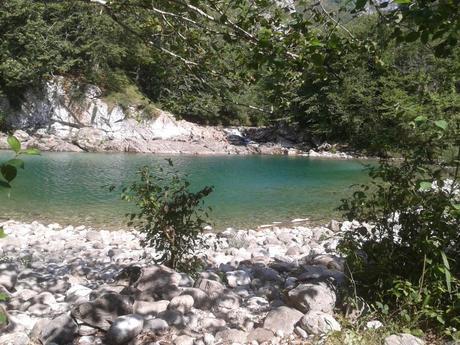 Río Dobra, en Amieva