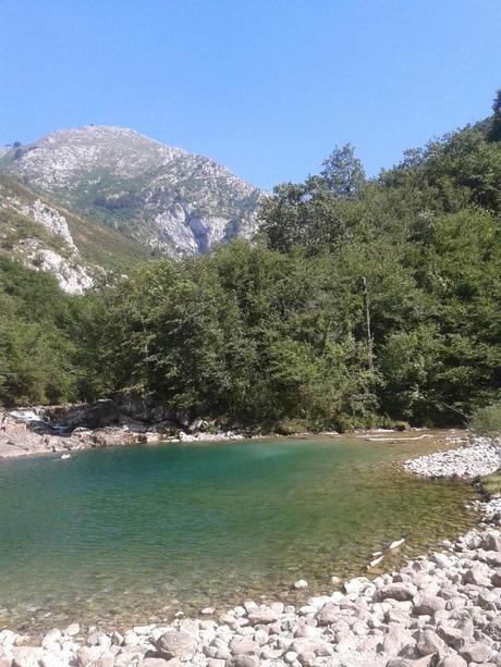 Olla de San Vicente, Río Dobra, Amieva, Asturias