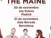 Maine Madrid Barcelona noviembre